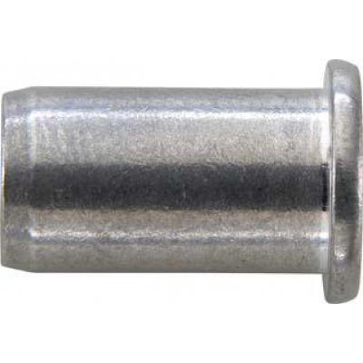 Matice na trhacie nity, INOX VA plochá guľatá hlava M6x9x18mm GESIPA