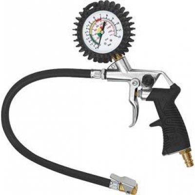 Merač tlaku pneumatík a páková vsuvka, nekalibrovanej 0-12bar Riegler