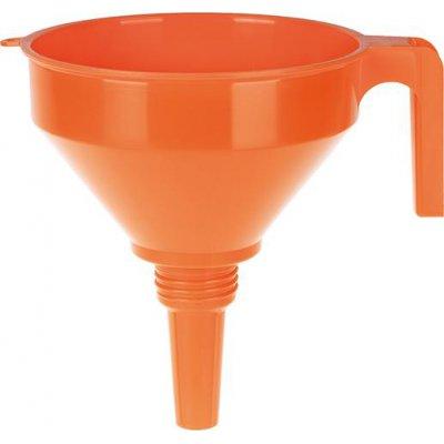 Lievik polyetylén vrátane sita, O okraje 160mm 1,2l PRESSOL