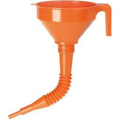 Lievik polyetylén vrátane sita 02674 O 160mm PRESSOL
