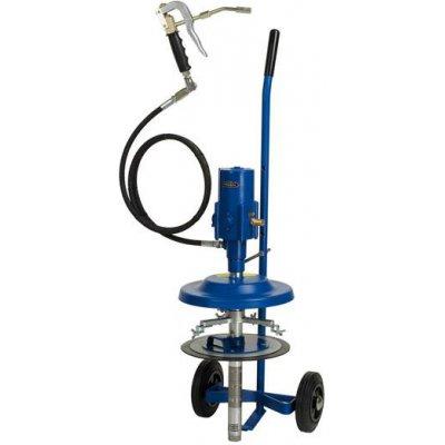 Pneumatické sudové pumpa s maznicou na vedierko 15kg PRESSOL