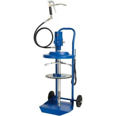 Pneumatické sudové pumpa s maznicou na vedierko 25kg PRESSOL