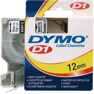Popisovacia páska D1 45013 čierna / biela 12mmx7m DYMO