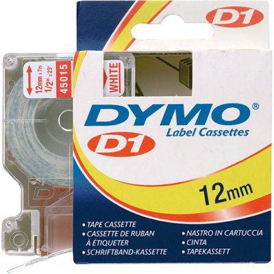 Popisovacia páska D1 45015 červená / biela 12mmx7m DYMO