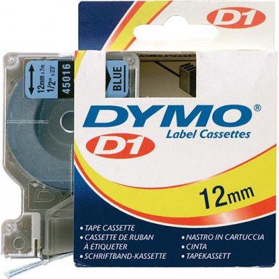 Popisovacia páska D1 45016 čierna / modrá 12mmx7m DYMO