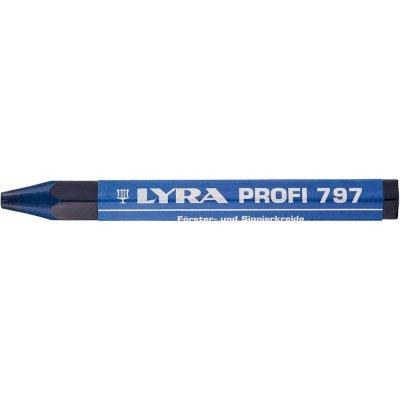 Lesnícka a značkovacia krieda 797 modrá, 12 ks./balení LYRA