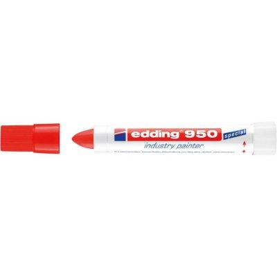Pastovací značkovač 950, červený edding