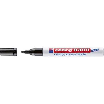 Priemyselný permanentný popisovač 8300 čierna edding