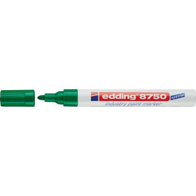 Priemyselný lakovacej značkovač 8750 zelená edding