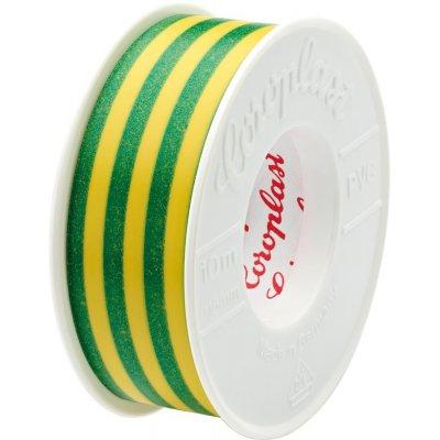 Izolačná páska 302 10mx15mm zelená / žltá Coroplast