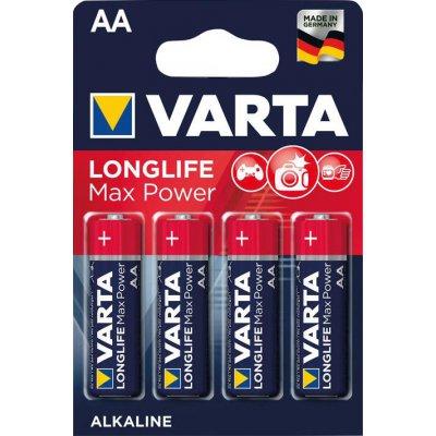 Batéria MAX TECH AA DE, 4 ks. v blister balení VARTA