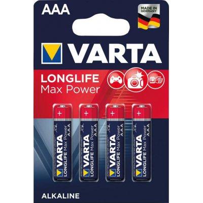 Batéria MAX TECH AAA DE, 4 ks v blister balení VARTA