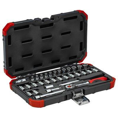 Sada nástrčných kľúčov 1/4 kľúčový otvor 4-13mm 33 dielov Gedore RED