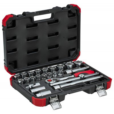 Sada nástrčných kľúčov 1/2 kľúčový otvor 10-32 mm 24 dielov Gedore RED