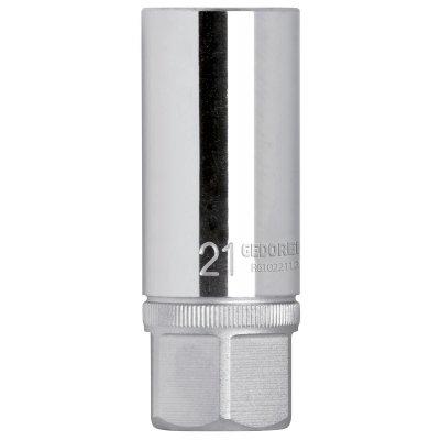 Hlavica na zapaľovacie sviečky 1/2 kľúčový otvor 20,8 mm s magnetom Gedore RED