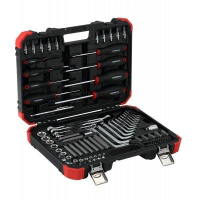 Sada skrutkovacích nástrojov TX v kufríku, 75 dielov Gedore RED