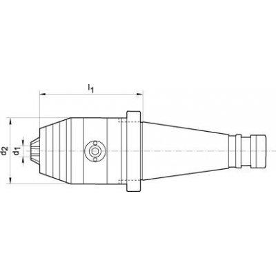 Krátke skľučovadlo DIN2080 R / L 1,5-16 SK40 FORIS FORTIS - pre216658.jpg