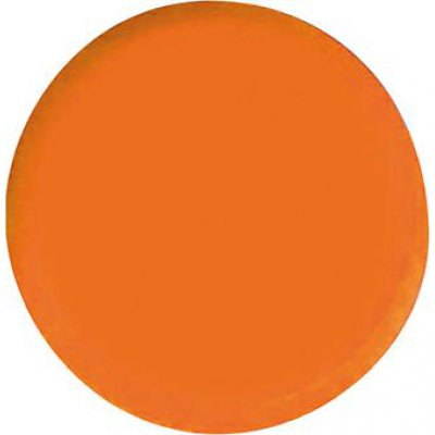 Organizačné magnet, okrúhly oranžový 30mm Eclipse