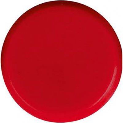 Organizačné magnet, okrúhly červený 30mm Eclipse