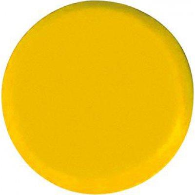 Organizačné magnet, okrúhly žltý 30mm Eclipse