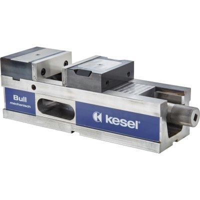 Hydraulický zverák CNC BULL125 mechanický + štandardná čeľuste Kesel