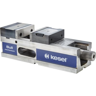 Hydraulický zverák CNC BULL125 mechanický + stupňovité čeľuste Kesel