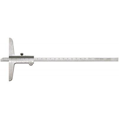 Posuvný hĺbkomer 200mm 1/50 FORTIS