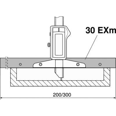 Merací mostík, 200 mm MAHR