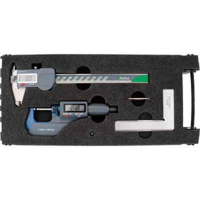 Sada meracie nástroje, 3 ks. digitálne FORTIS