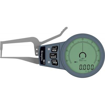 Vonkajší rychlosnímač Meranie hrúbky stien rúrok 0-15mm KRÖPLIN