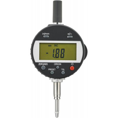 Odchýlkomer digitálny IP65 12,5 / 0,01mm FORMAT