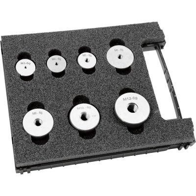 Sada závitové kalibre krúžky (bezvadný diel) 6g M3-M12 FORMAT
