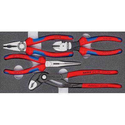 Sada kliešte Basic penová vložka, 4 ks. KNIPEX