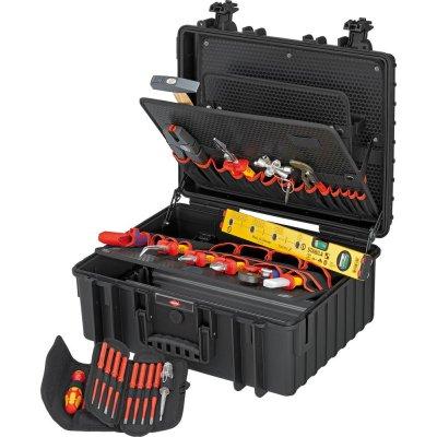 Kufor na náradie Robust 34 pre elektrikárov 26 ks. KNIPEX
