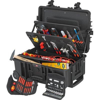 Kufor na náradie Robust 45 pre elektrikárov 63 ks. KNIPEX