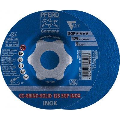 Brúsny kotúč CC-GRIND Solid SGP INOX 125mm PFERD