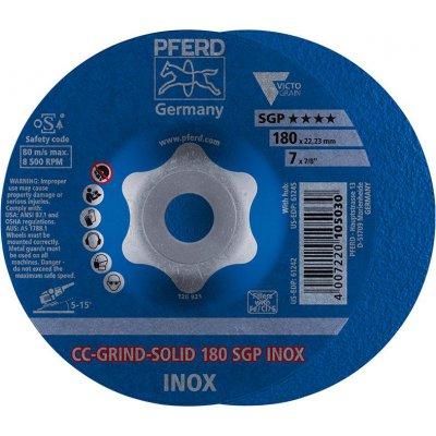 Brúsny kotúč CC-GRIND Solid SGP INOX 180mm PFERD