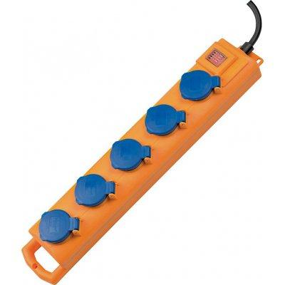 Zásuvkový rozvádzač 5 zásuviek H07RN-F3G1,5 2m Brennenstuhl