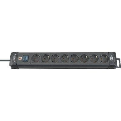 Zásuvková lišta Premium 8 zásuviek H05VV-F3G1,5 3m Brennenstuhl