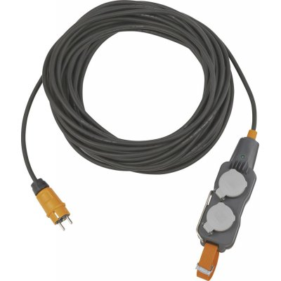 Predlžovací kábel, 4 zásvuky IP54 H07RN-F3G1,5 25m Brennenstuhl