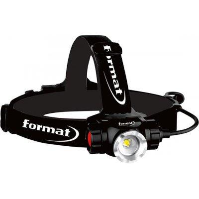 LED aku čelové svietidlo 900lm FORMAT