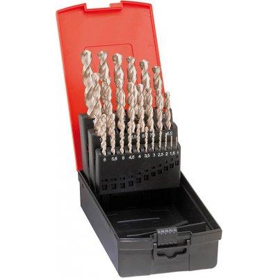 Sada špirálových vrtákov DIN338 HSS-Co5 Vybrusovanie typ N 1-10mm FORMAT