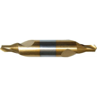 Strediaci vrták DIN333 HSS TiN tvar A 2,50mm FORMAT